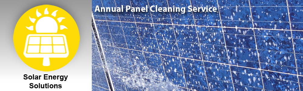 Annual Solar Panel Cleaning Service