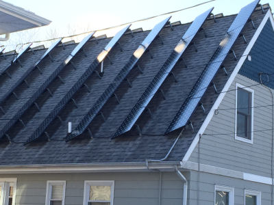 UGLY Solar Installation in Toms River NJ. This is NOT A Green Sun Installation