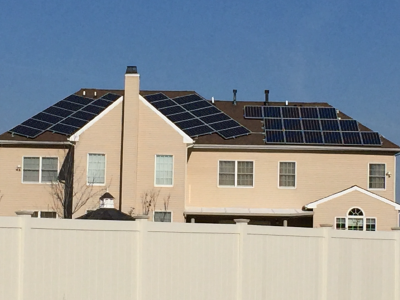 UGLY Solar Installation in Freehold NJ. This is NOT A Green Sun Installation
